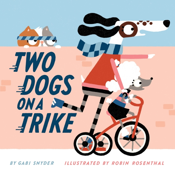 Two Dogs on a Trike cover
