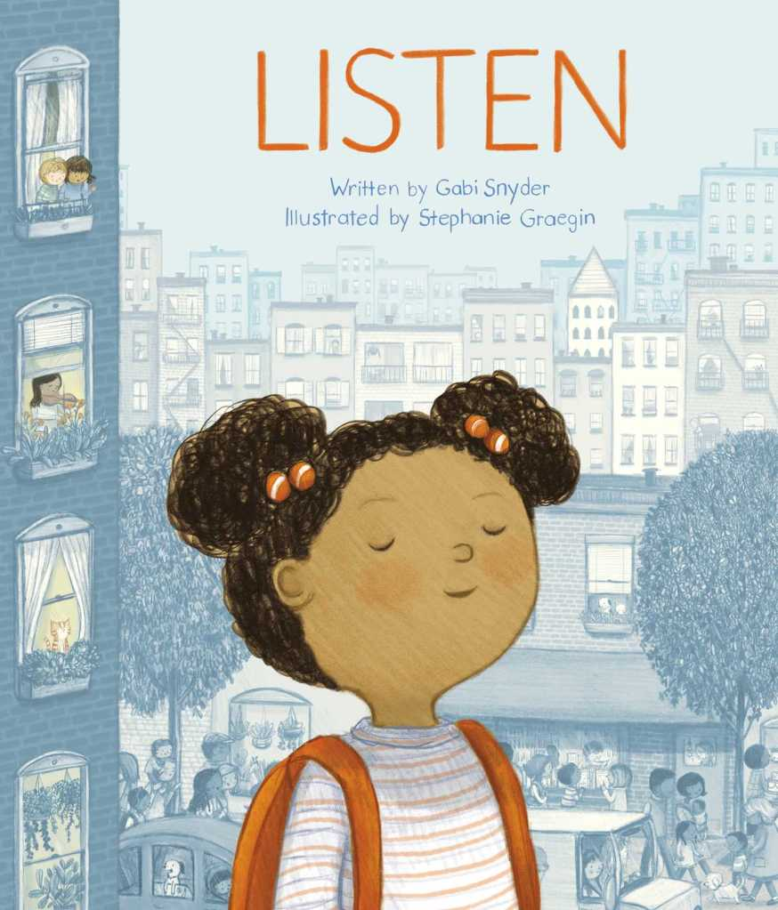 Cover of the picture book Listen